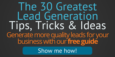Generate more quality leads